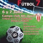 cartel futbol 7 2019