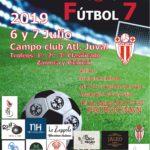 cartel futbol 7 2019 publicidad